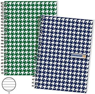 Blocchi Spiralati Memotak Joy Pastel 80 fogli dimensione A4 Quadretti 5M confezione singola