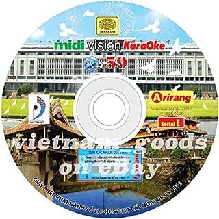 Arirang Karaoke Vision Midi Disc Vol 59 Serial E Vietnamese English For Arirang Player AR 909 / AR 909 A / AR 909 SD / AR 909 S / AR 36