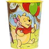 Disney Pooh and Pals 16 oz. Plastic Cup ディズニーくまのプーさんと仲間達16オンス?プラスチックカップ♪ハロウィン♪クリスマス♪