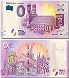 I LOVE KÖLN 0-Euro-Schein, Banknote 0 Euro München Frauenkirche 2018, Souvenir Null Euroschein für Sammler