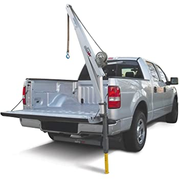 1//2 Ton Capacity Pickup Truck Crane with Cable Winch