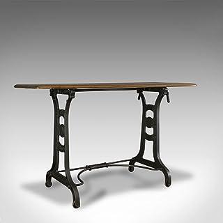 Table d'orange antique - Anglais, industriel, industriel, victorien, côté C.1900