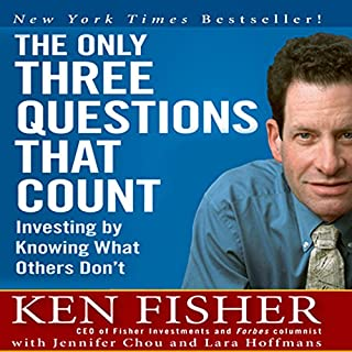 The Only Three Questions That Count cover art