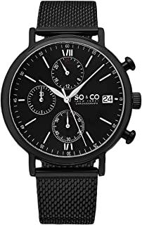 So & Co New York Casual Watch Analog Display Quartz For Men 5266M.3