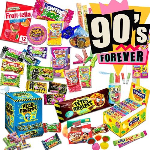 USA Retro Süßigkeiten Box aus aller Welt 90er Jahre 47 Teile Kindheitserinnerungen