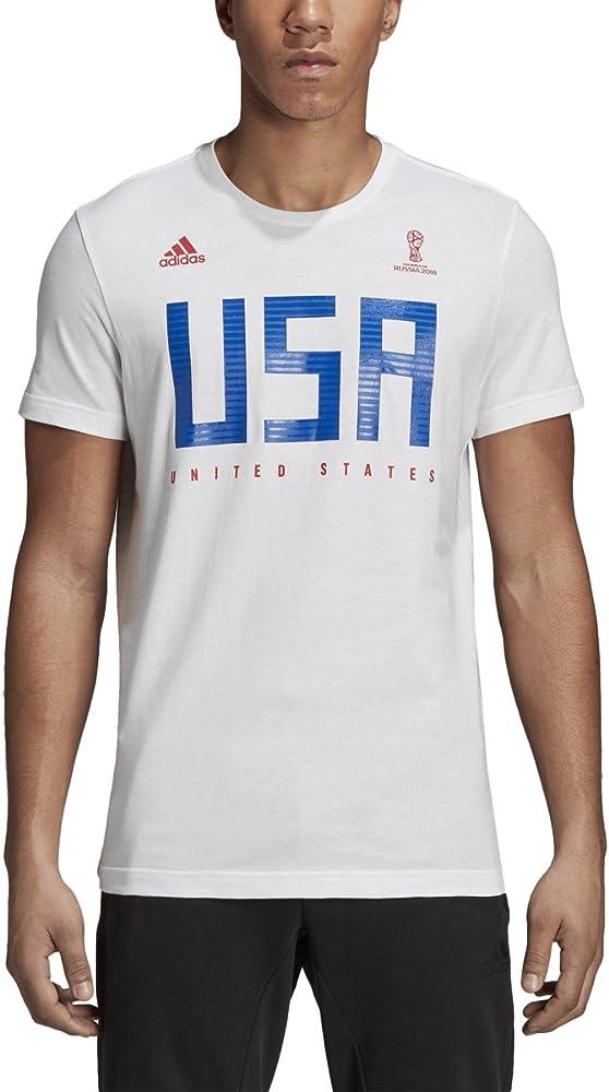 adidas Men's Soccer USA Tee