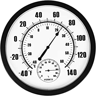 round outdoor thermometer