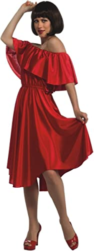 Entrega gratuita y rápida disponible. Saturday Night Fever rojo Disco Costume Dress Adult Small Small Small  punto de venta en línea