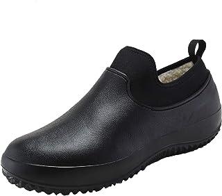 YUKTOPA Chaussures de Chef Unisexes Chaussures d'infirmière antidérapantes imperméables à l'eau de Cuisine Sabots