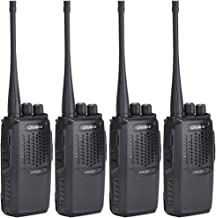 Olywiz HTD825 Walkie Talkies Rechargeable Two-Way Radio Long Range Up to 6 Miles 1800mAH Battery(Ultra-Long Standby) Loud&Clear 16CH UHF Professional Portable 2 Way Radios 4Pack
