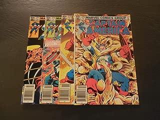 4 Iss Captain America #271,274-276 Jul-Dec 1982 Bronze Age Marvel Comics