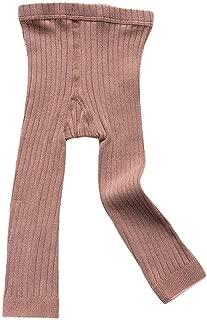 Toddler Baby Basic Ribbed Leggings Footless Tights Kids Little Girls Dress Bottom Pants