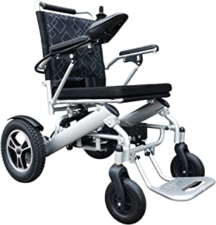FHISD Light Weight Foldable Electric Power Wheelchair for Disabled