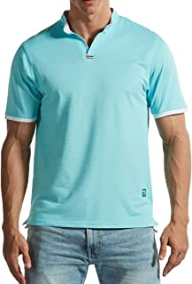 Gopune Mens Short Sleeve Shirts Quick Dry Breathable Performance Wicking T-Shirt Summer Casual Tops