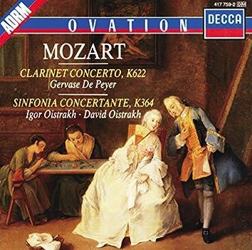 Mozart: Clarinet Concerto / Sinfonia Concertante
