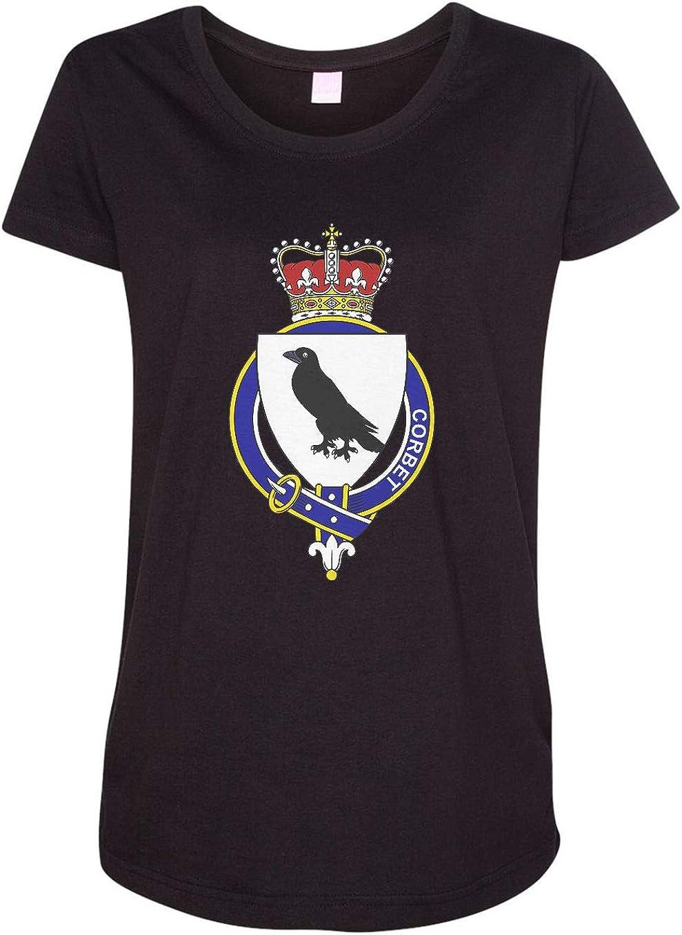 HARD EDGE DESIGN Women's Scottish Garter Family Corbet T-Shirt