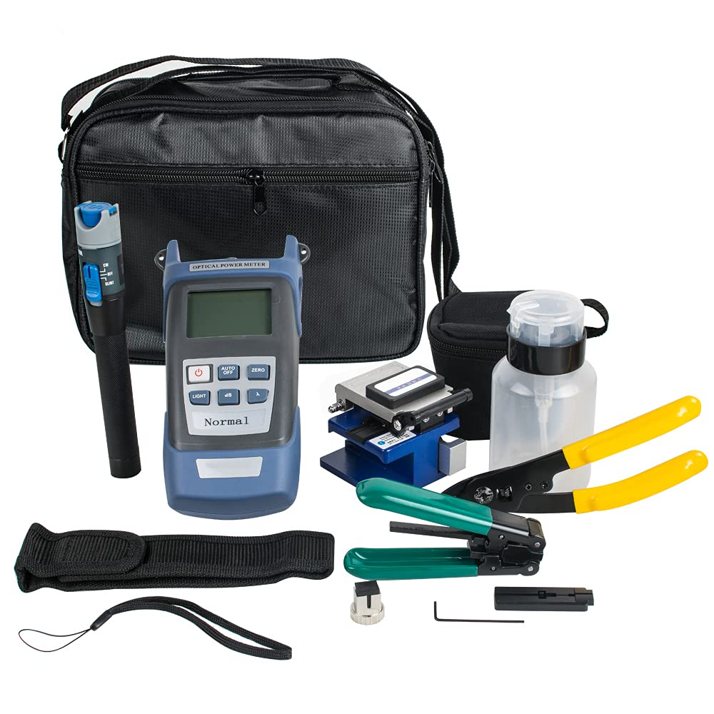 Lolicute Fiber Optic FTTH Tool FC-6S Opti Challenge the lowest price Super sale Kit with Cleaver