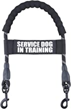 pranovo Guide Dog Harness Bridge Handle for Vest & Harnesses with Service Dog in Training ID Tag Band