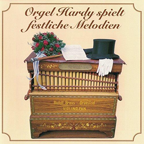 Orgel Hardy spielt festliche Melodien (42er Bruns Drehorgel)