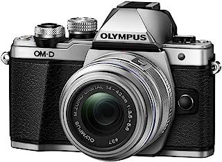 Olympus OM-D EM-10 Mark II CSC v2V207051SU000 机身 w/ 14-42mm IIR 镜头 银色