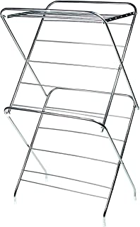 SYNERGY - Super Heavy Duty 3 Tier Stainless Steel Foldable Cloth Dryer/Clothes Drying Stand (SY-CS12)