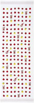 コンテックス フェイスタオル 布ごよみ トマト ピンク 約33×100cm