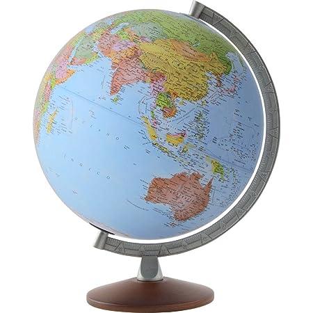 ORBYS 地球儀 英語版カラーラ11型 球径30cm 行政図 43601