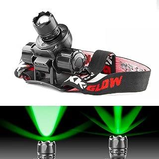 GREEN Spot and Flood Retractable Lens Heavy-duty CREE LED Headlight