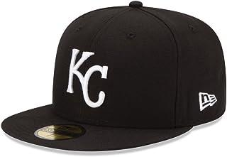 New Era 59Fifty Hat Basic Kansas City Royals Black/White Fitted Baseball Cap