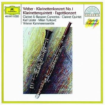 Weber: Clarinet & Bassoon Concertos
