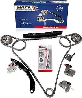 MOCA Engine Timing Chain Kit for 2003-2005 Infiniti FX35 G35 & 2002-2007 Nissan Altima Maxima 3.5L V6 DOHC 24V Engine Code VQ35DE