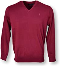 Polo Ralph Lauren Mens Heathered Long Sleeves V-Neck Sweater
