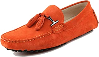 MINITOO Homme Gland Suede Mocassins D'été Loafers Chaussures YY2080