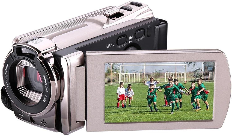 Wokee Videokamera Camcorder 1080P Ultra HD Camcorder Full HD-FHD Nachtsicht Wifi Digital Videokamera HDMI und Touchscreen Wifi Camcorder Digitale Videokameras mit Nachtsicht (A)