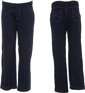 دوشنبه بلوز زنانه لباس خواب شلوار جین راحت Ultrasoft زنانه گاه به گاه کشش Pjs جین جین پنبه و اسپندکس