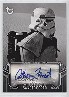 Anthony Forrest (Trading Card) 2018 Topps Star Wars Black and White - Autographs #ANFO
