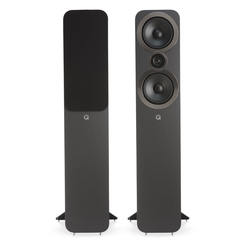 Q Acoustics 3050i Floorstanding Speaker Pair (Graphite Grey)