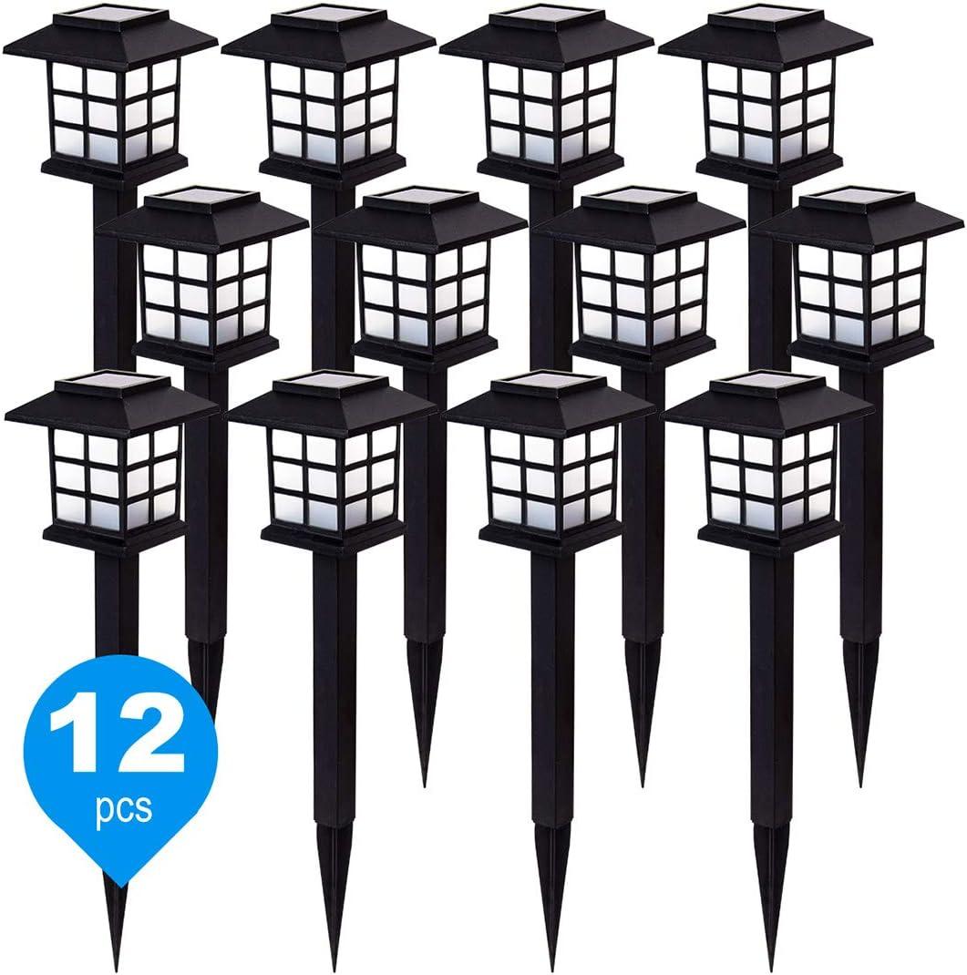 12 Pack Solar Path Japan Maker New Lights White Light OFFicial LED Garden for