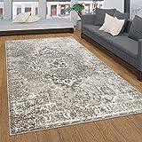 Tappeto Salotto Moderno Pelo Corto con Ornamenti Vintage Orientale Diversi Stili, Dimensione:160x230 cm, Colore:Beige 2