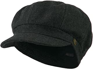 Brand New City Hunter Plain Pinstripe Flat Peak Fitted Cap Hat era