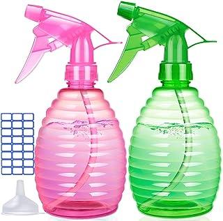 Spray Bottles for Hair - 16 oz Plastic Empty Spray Bottle for Cleaning Solutions - BPA Free Material - Spray Bottle for Ga...