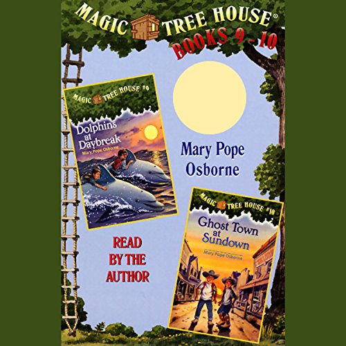 Magic Tree House: Books 9 and 10 audiobook cover art