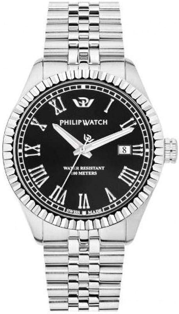 Philip watch caribe orologio analogico uomo in lega di acciaio R8253597054