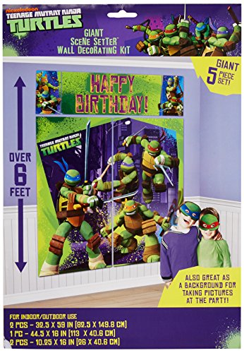 TMNT Scene Setter, Birthday
