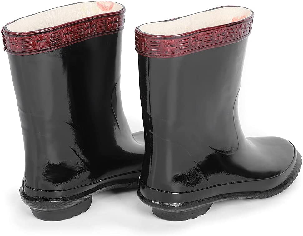 OFFicial Rubber Boots Free shipping on posting reviews Insulated professional Non-Slip Waterproof L