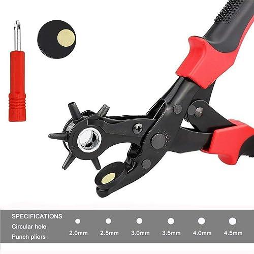 Famex 3519 Pince revolver emporte-pièce Effet levier pour 70 /% de force en...