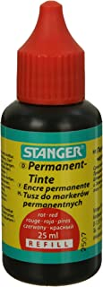 غيار حبر ثابت من ستانجر، 25 مل - ازرق