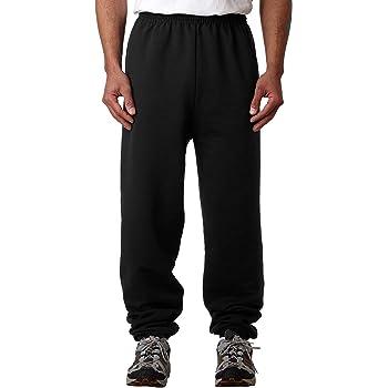 Champion 50/50 Fleece Pant Sweatpants - No Pockets, Large, Black