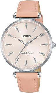 ساعة بسوار جلدي للنساء من لوروس موديل RG249PX9