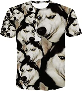 ZzSTX T Shirt Animal Shirts Summer